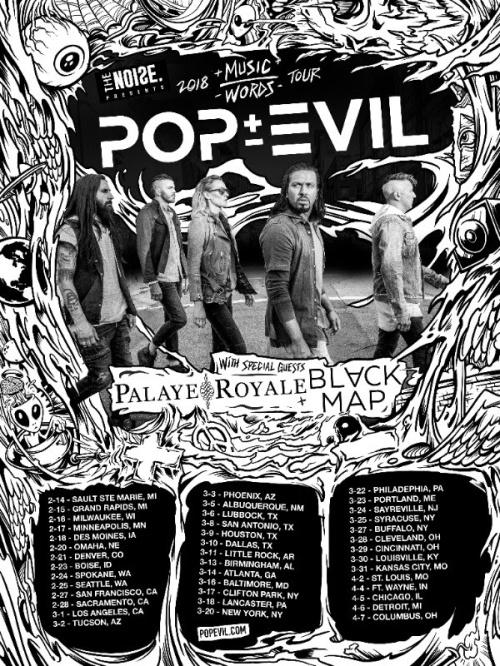 Music Over Worlds Pop Evil Promo